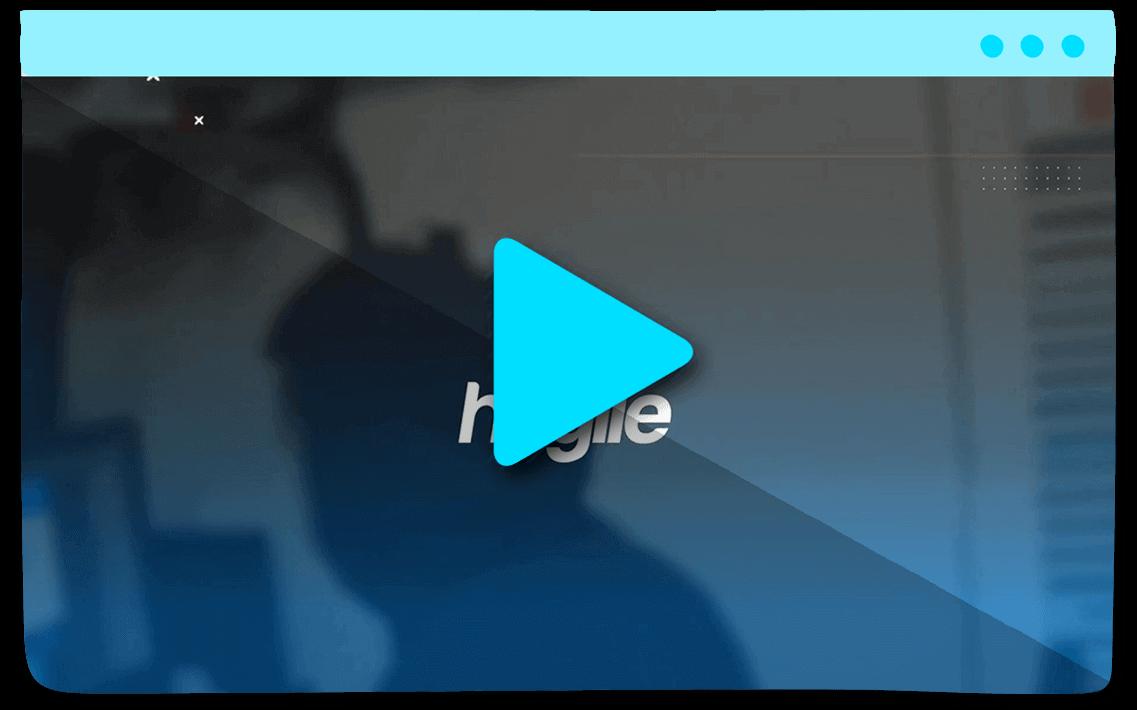 Vídeo de presentación Hagile Agência Digital